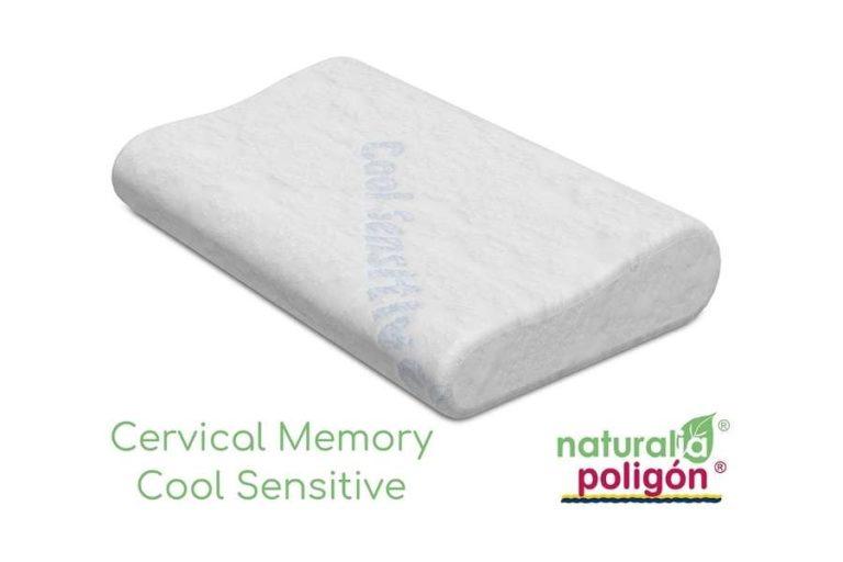 Almohada Cervical MEMORY COOL SENSITIVE Poligon Naturalia